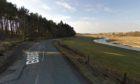 The crash happened on the B9005 Ellon to Fyvie road