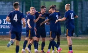 Barry Robson hails resilience of 10-man Aberdeen colts following superb victory over Brora Rangers
