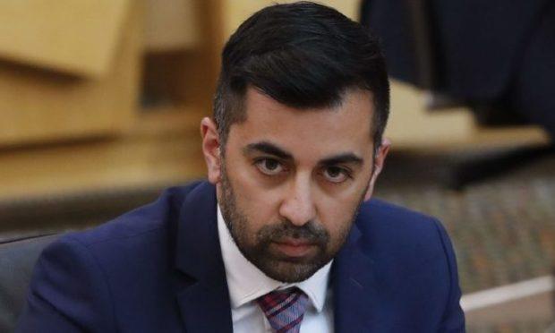 Humza Yousaf, the Scottish health secretary.