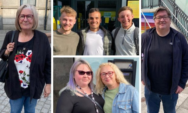 People in Aberdeen have their say on the easing of restrictions.