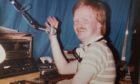 Finlay Cran spinning the platters that matter in the early days of GHR.