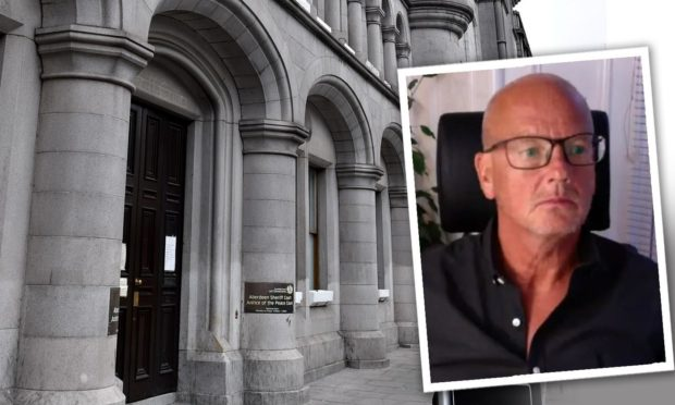 Gary Sutherland appeared at Aberdeen Sheriff Court