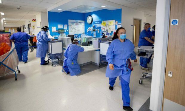 Hospital ward.