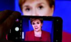 Nicola Sturgeon has revealed cases have hit a single-day high