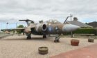 The Buccaneer fighter jet that has stood at the Elgin petrol station with the same name is now up for sale.