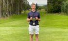 Insch golfer James Flett.