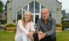Foundations of love: Clare Copland and her husband Gary have put their heart and soul into creating their dream family home.