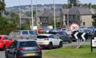 Traffic on North Anderson Drive and Provost Rust roundabout.  Picture by KATH FLANNERY
