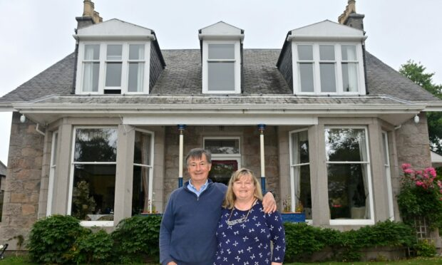Home is where the heart is: Mark and Ursula Thompson say Inverdon has been the perfect place to live for the past 16 years.