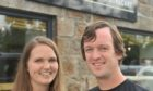 Owners Jonny and Ali of Coffee Apothecary