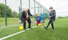 Aberdeen's Lord Provost, Barney Crockett got involved with the Summer of Play programme