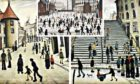 LS Lowry visited and painted in Caithness in the 1930s.