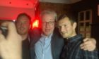 Michael Gove raves in Aberdeen club Picture shows; Michael Gove. Bohemia, Aberdeen. Supplied by Emma Lamnet