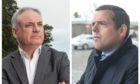 Moray MSP Richard Lochhead and Moray MP Douglas Ross. Photo: Jason Hedges/DCT Media