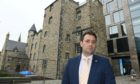 Michael Hutchison previously complained about the quality of work at Provost Skene's House.