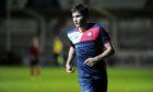 Luke Turner had a spell on loan at Turriff United last season
