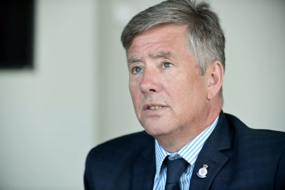 Justice secretary Keith Brown had a bit of a memory lapse recently (Photo: Sandy McCook)