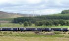 A ScotRail train on the Perth to Inverness line, which is likely to be affected by the changes.