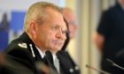 Iain Livingstone, then acting chief constable, giving evidence to the Scottish Police Authority meeting in Inverness, in September 2017.