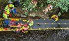Duncan Brown plummeted 30ft after crashing into a bridge near Portsoy. PICS: Jasper Images