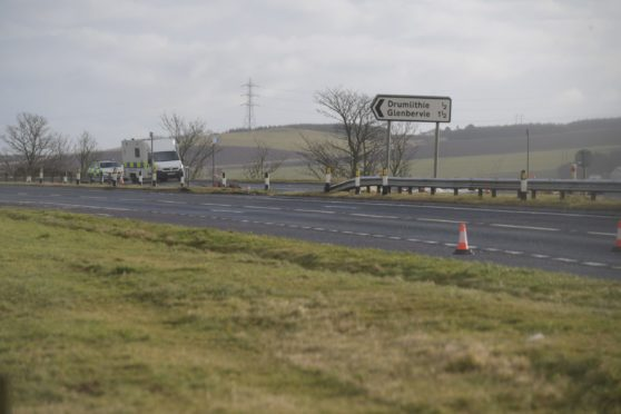The contraflow will begin just after the Drumlithie junction of the A9. Picture by Kath Flannery