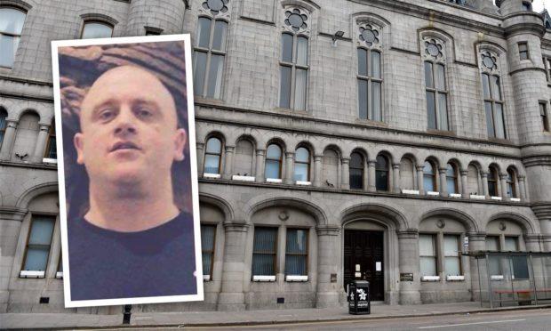 Raymond Pritchard was jailed at Aberdeen Sheriff Court.