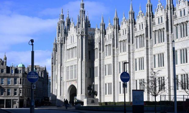 Aberdeen City Council headquarters Marischal College