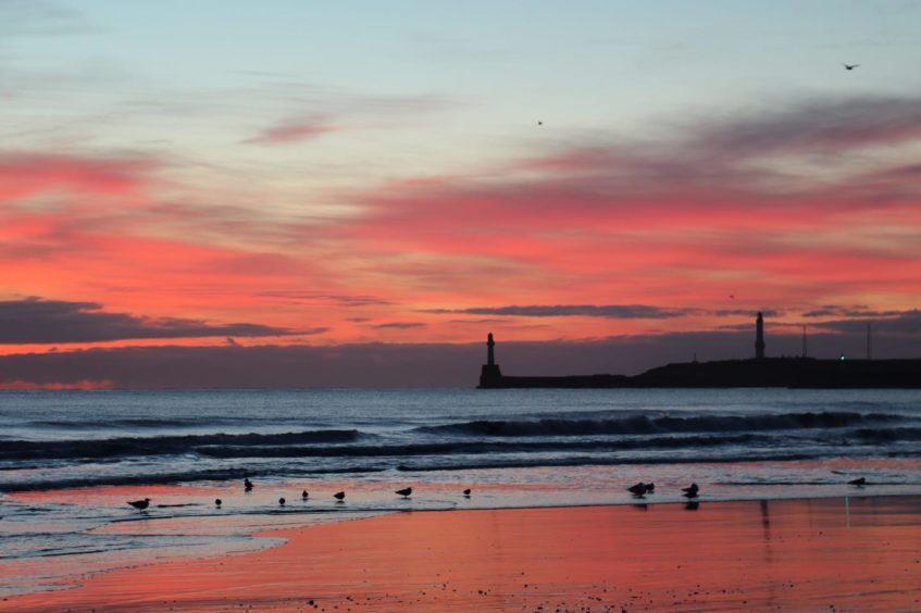 VA Rediscover August - Elaine Williamson - Aberdeen dawn