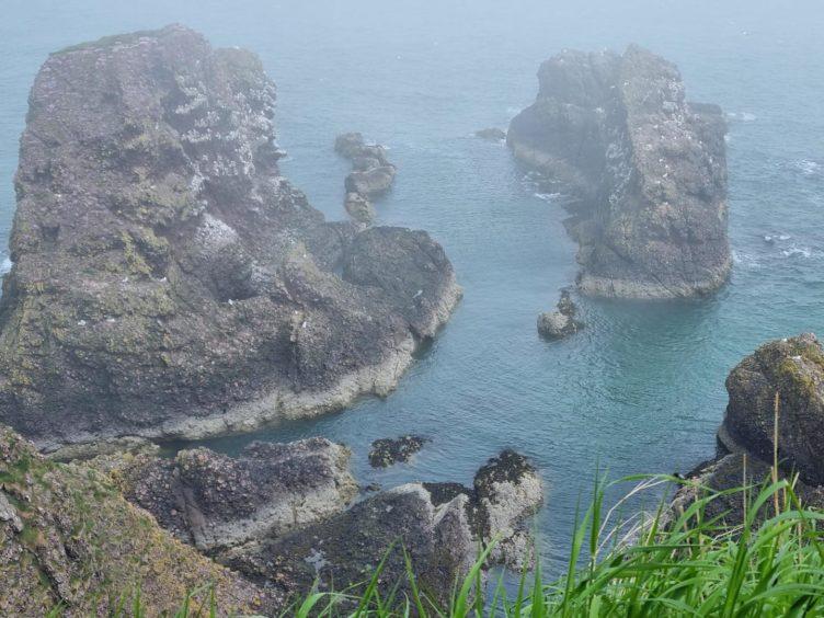 VA Rediscover August - Heather Lepkowski - View from Dunnottar Castle