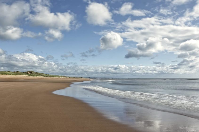 VA Rediscover August - Marc Gordon - Balmedie Beach