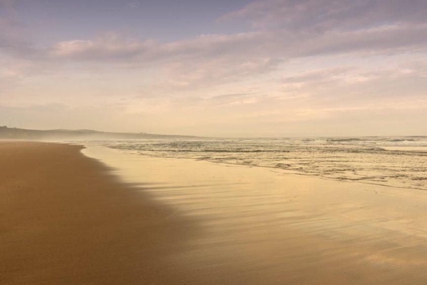 VA Rediscover August - Marc Gordon - Sunset at St Cyrus