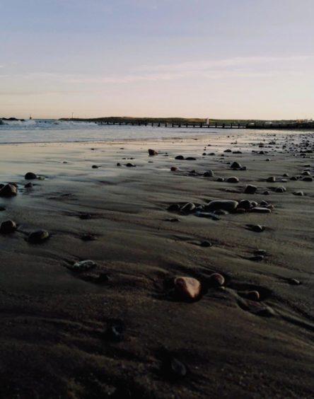 VA Rediscover August - Megan Smith - Aberdeen beach at sunset
