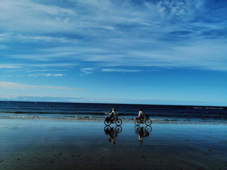 VA Rediscover August - Megan Smith - Freedom at Lossiemouth Beach