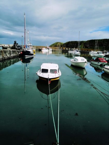 VA Rediscover August - Megan Smith - Resting boats at Stonehaven Harbour