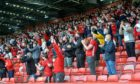 Fans have attended games against BK Hacken and Dundee United in limited numbers.