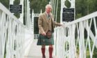 HRH The Duke and Duchess of Rothsay visited Ballater to open the Community Hub and the Duke then visited the Cambus O'May suspension Bridge.