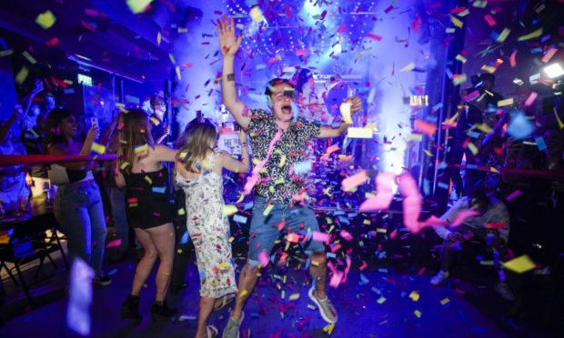 Nightclubs will reopen across Scotland from Monday.