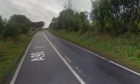 The A90 near Mains of Philorth is currently closed