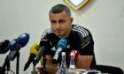Qarabag manager Gurban Gurbanov. Pic supplied by Qarabag FK