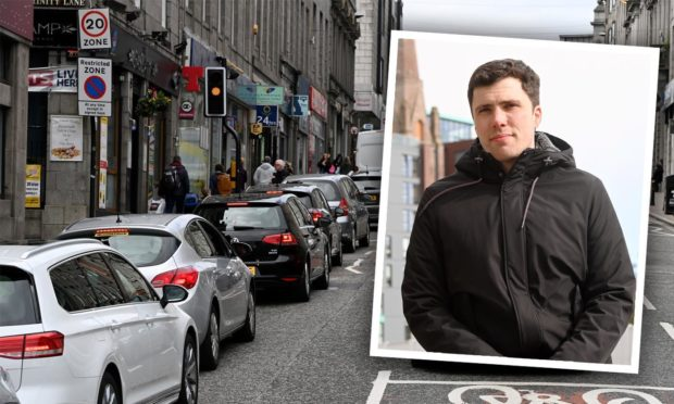 Ryan Houghton said Aberdeen City Council will not be introducing a congestion charge.