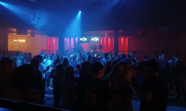 Aberdeen's nightclub dancefloors are back in business (Photo: Lauren Taylor)