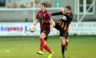 Neil McLean in action for Inverurie Locos