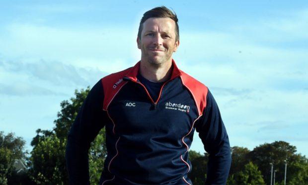 Aberdeen Grammar head coach Ali O'Connor.