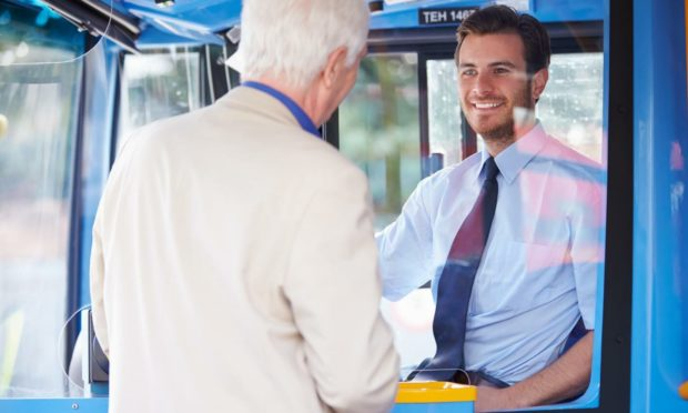 Have bus pass, will travel... even if Scott hits 60 in a state of disbelief (Photo: Shutterstock/Monkey Business Images)