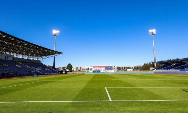 Laugardalsvollur will host  Breidablik's Conference League game against Aberdeen