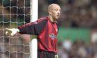 Derek Soutar in action for Dundee against Celtic in 2005.