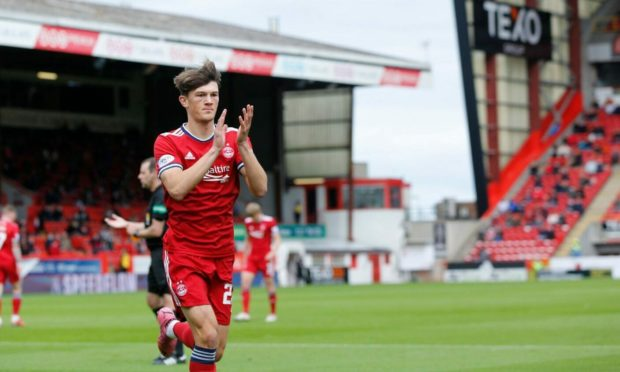 Aberdeen's Calvin Ramsay has impressed for the first team since making a break-through.