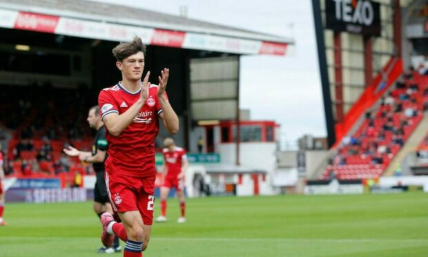 Aberdeen's Calvin Ramsay has been targeted by Premier League Everton.