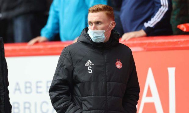 Aberdeen defender David Bates.