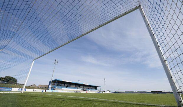 Peterhead's Balmoor Stadium.